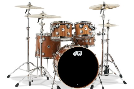 Video Demo! DW - Collector's Series Cherry/Mahogany Drumset