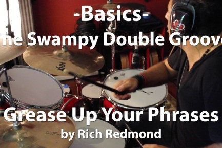 Video Lesson! The Swampy Double Groove with Rich Redmond