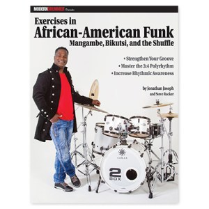 Modern Drummer Presents: Exercises in African-American Funk (Book)