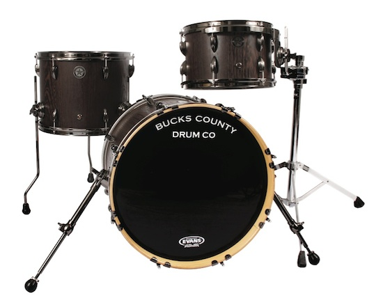 Bucks County Semi-Solid Bebop drumset