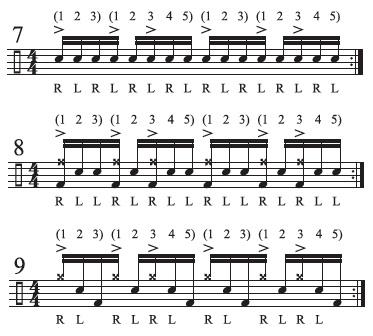 Hidden Rhythms Odd Groupings 7