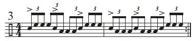 Rhythmic Conversions 3