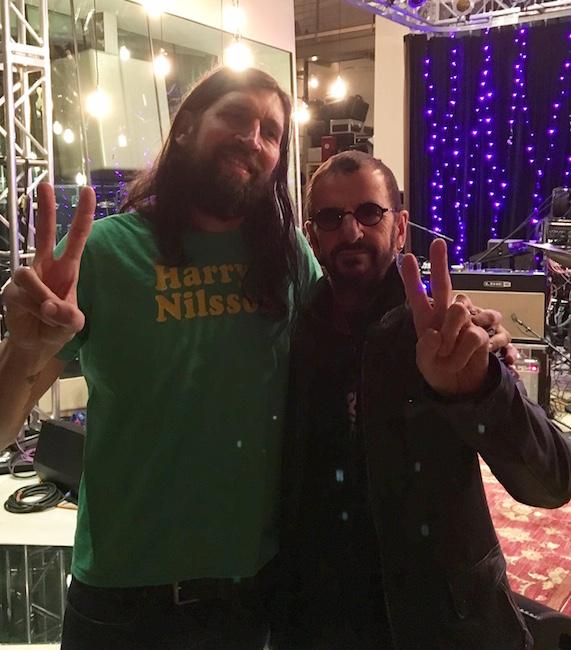 Fred Eltringham Ringo Starr