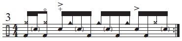 Three-Note Variations 3