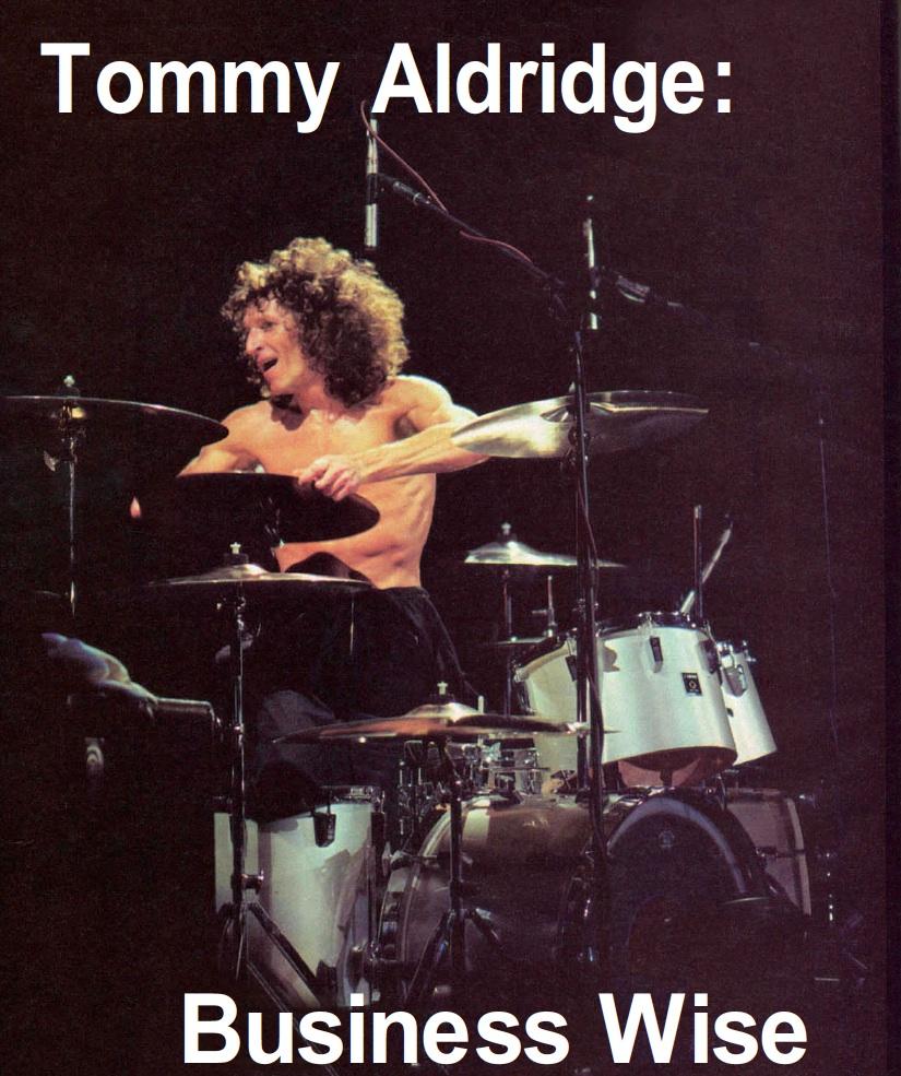 Tommy Aldridge: Business Wise - Modern Drummer Magazine