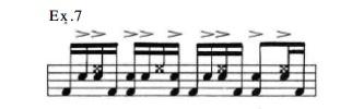 Latin Rock Patterns 7