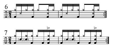 Implied Brazilian Rhythms 5