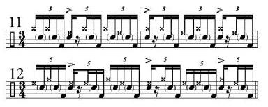 Phrasing Quintuplets 8
