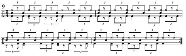 Syncopation Revisited 5/4 Applications 10