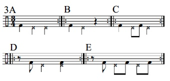 Syncopation Revisited 3/4 Applications 4
