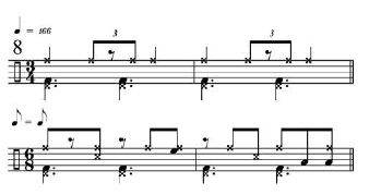 Rhythmic Transition Examples 9