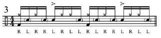 Broken doubles and Paradiddles 4