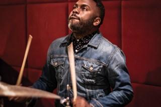 Simon Collins Modern Drummer Magazine