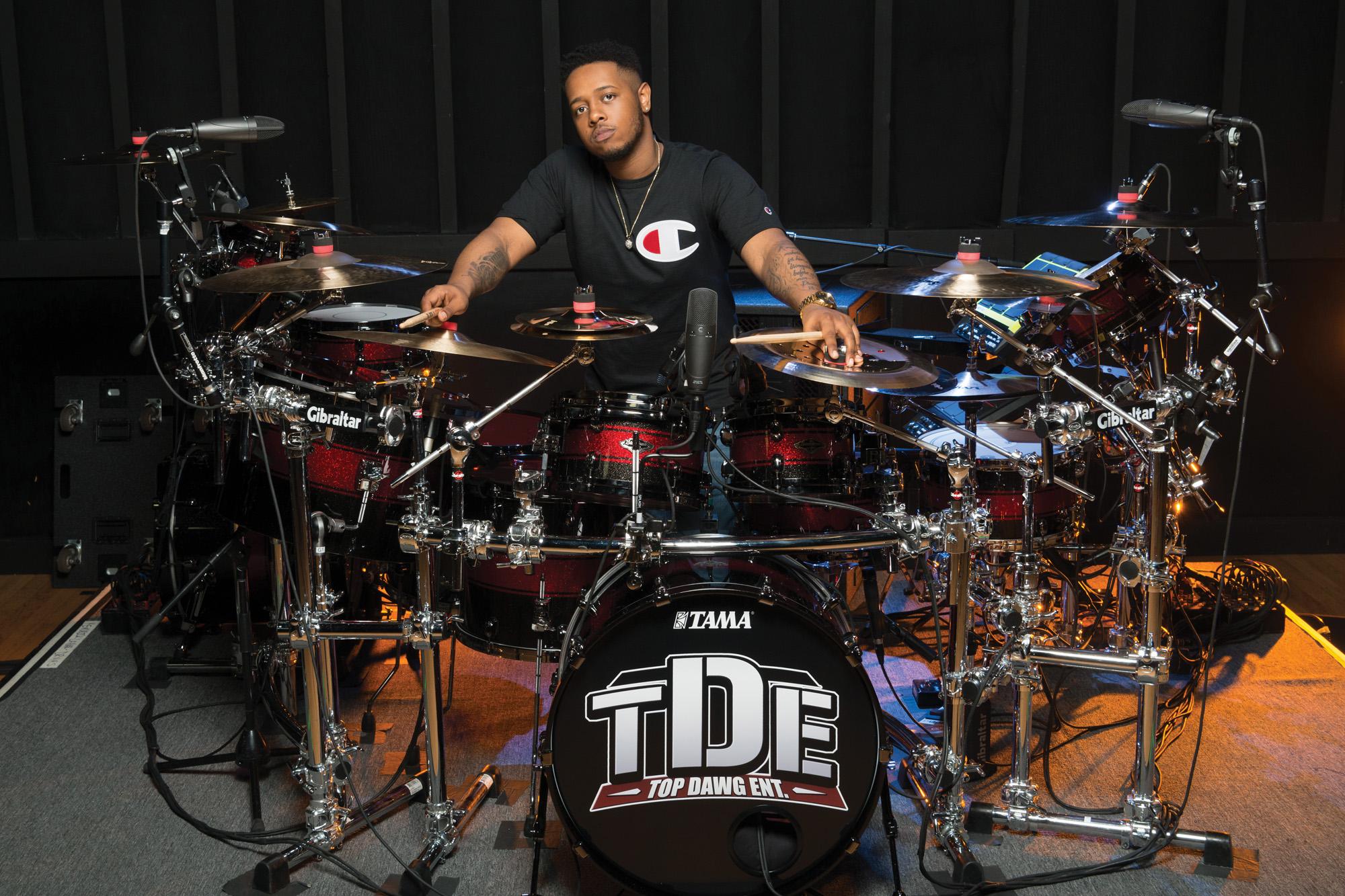 Kendrick Lamars Tony Rico Nichols Modern Drummer Magazine