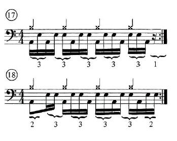 Advanced Quarter-Note Hi-hat rhythms 2