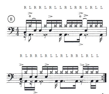 Paradiddle Funk 8