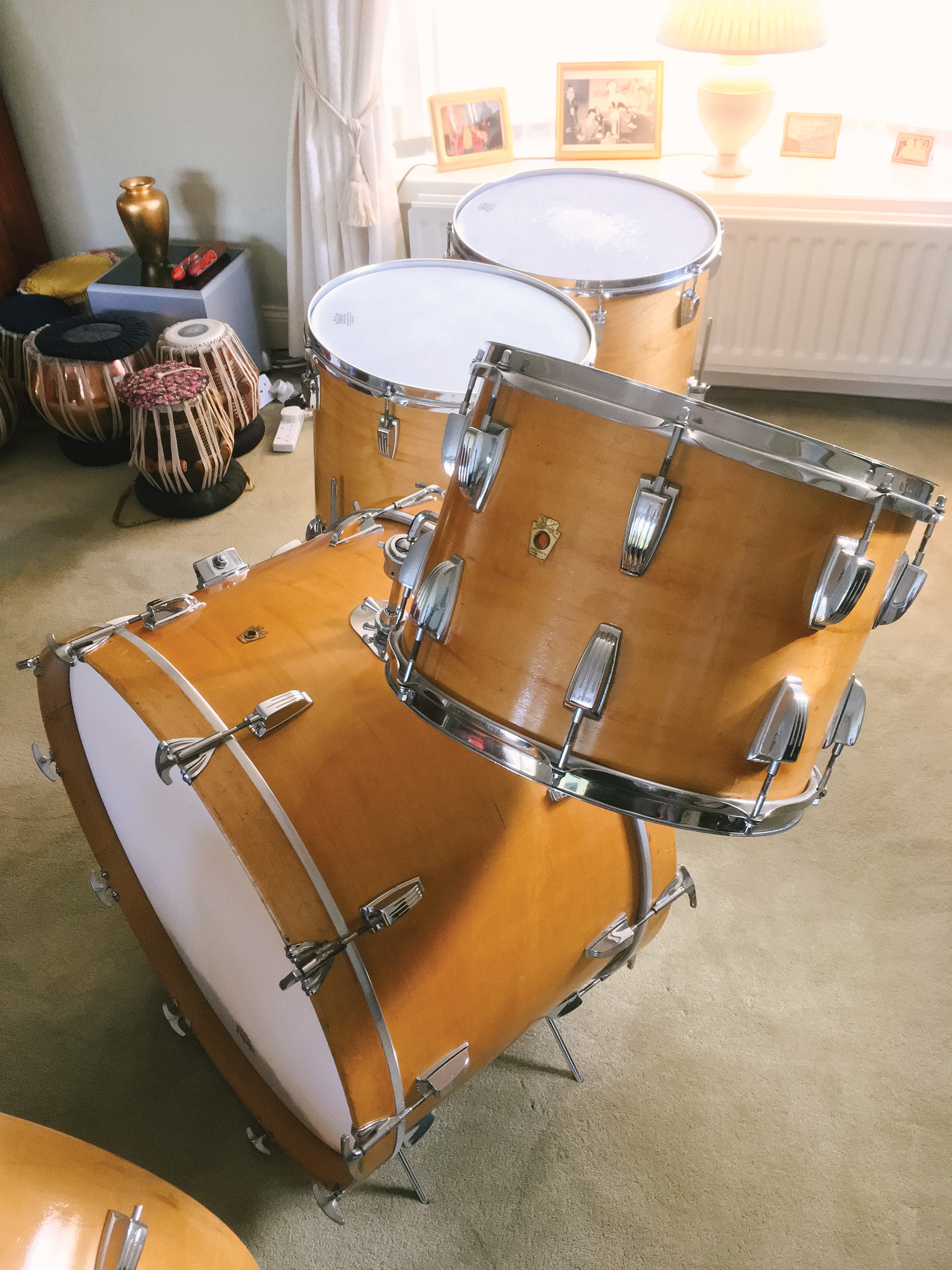 John Bonham's First Ludwig Kit - Modern Drummer Magazine