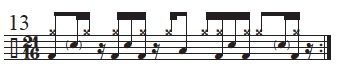 Musical Palindromes 13