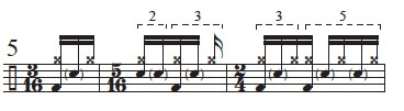 """Golden Measures"" and Fibonacci Rhythms 6"