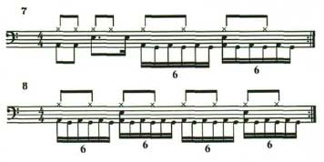 16th Note Triplets 6