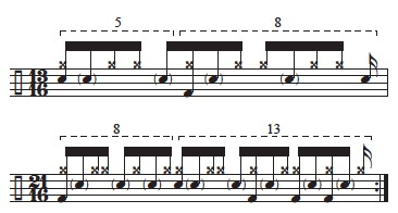 """Golden Measures"" and Fibonacci Rhythms 7"