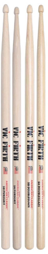 Vic Firth DoubleGlaze Drumsticks