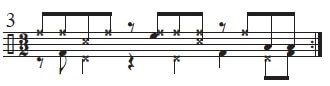 Mambo Bell Ideas in 3/2 time 10
