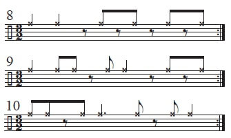 Mambo Bell Ideas in 3/2 time 3