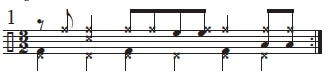Mambo Bell Ideas in 3/2 time 8