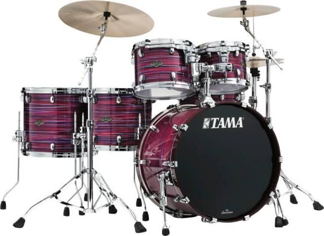 Tama Starclassic walnut/birch drumset