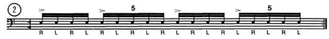 Odd Beat Subdivisions 2