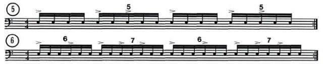 Odd Beat Subdivisions 5