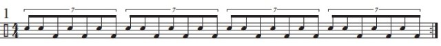 Seven-Note Groupings 1