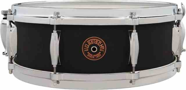 July 2020 Gretsch USA Black Copper Snare Drums b