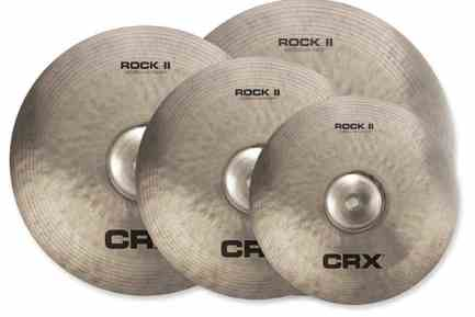TRX Cymbals CRX Rock II Series
