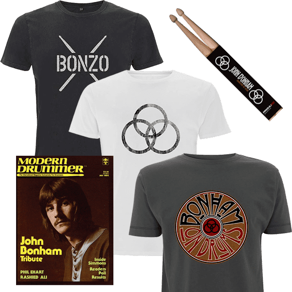 Modern Drummer Bonham Signature Set