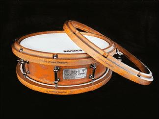 Diamond Drum Hoops