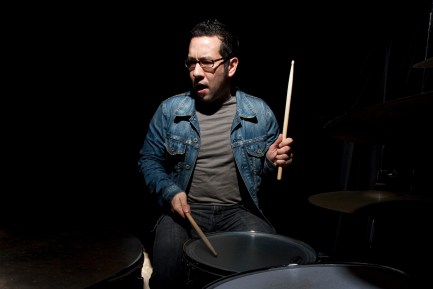 """MD Writer """"Pistol"""" Pete Kaufmann Conducting his """"Big Picture Drumming"""" Clinic"""