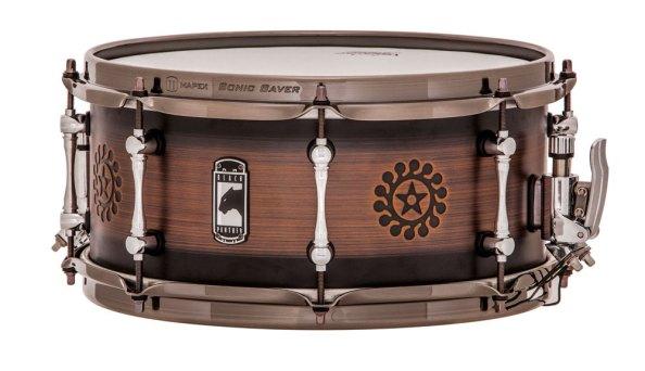 13x6 Mapex Brass Nomad Signature snare drum