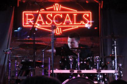 Drummer Chris Cushman of 3 Years Hollow