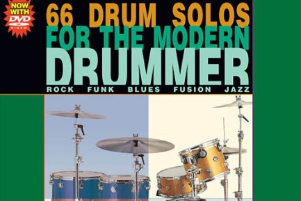66 DRUM SOLOS FOR THE MODERN DRUMMER BY TOM HAPKE (thumb)