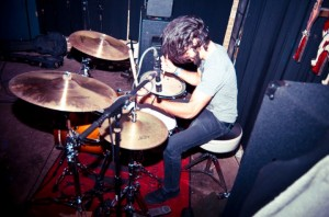 Drummer Brian Hernandez with Jacobs Ladder