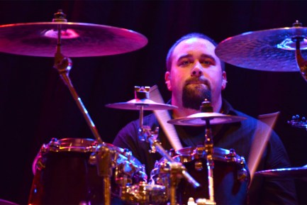 Drummer Pete Costa of Torrential Downpour