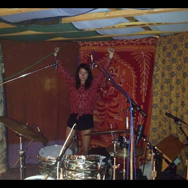 Drummer Stella Mozgawa