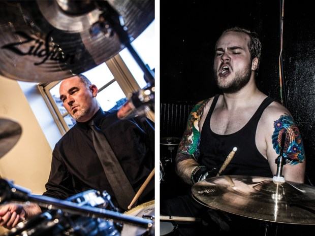 Drummer Blog: Jazzer Bryan Tuk and metal head Justin Vigile overcome adversity and form production company Project/Two