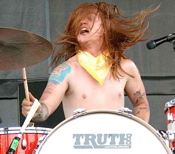 Aaron R. Gillespie of Underoath drummer blog