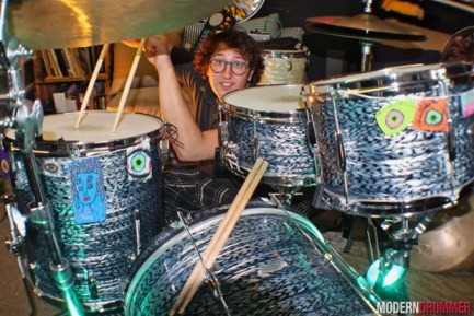 Mike Dillon's Adam Gertner Drummer Blog