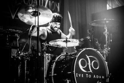 Eve to Adam's Drummer Alex Sassaris
