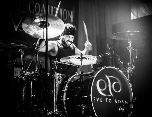 Eve to Adam's Drummer Alex Sassaris