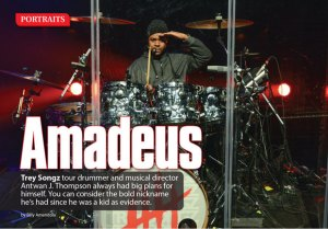 Multi-Platinum Producer Amadeus Jam Session, Q&A, and Modern Drummer Magazine Signing